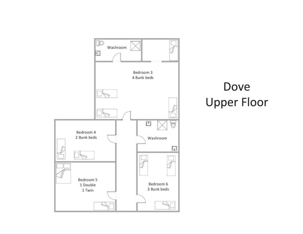Dove - Upper Floor